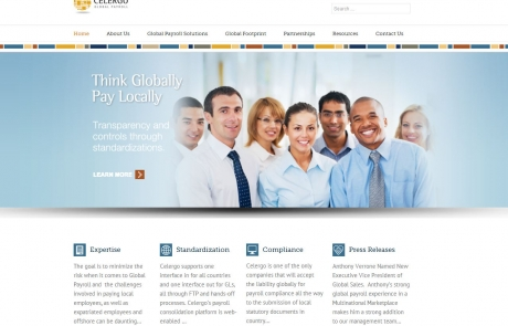 Celergo New Website by Staccato interactive