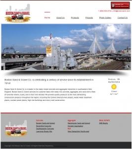 Boston Sand and Gravel New Website