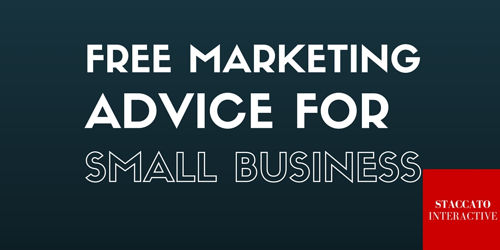 Free Marketing Advice for Small Business